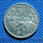 Mince ČSR 1945 - 1953