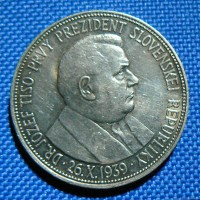 20 koruna  (20 Ks)  1939 R 0/0