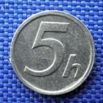 5 haléře