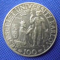 100 koruna (100 Kčs) 1948 U.K.